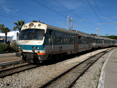 قطارات تونس