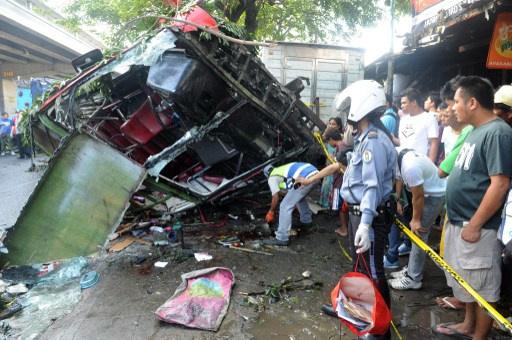 PHILIPPINES-TRAFFIC-ACCIDENT
