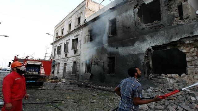 LIBYA-UNREST-BLAST