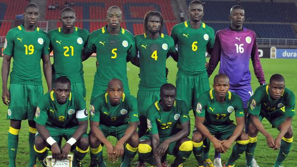 The Senegalese national football team po