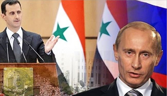 زيارة غير معلنة للأسد الى روسيا
