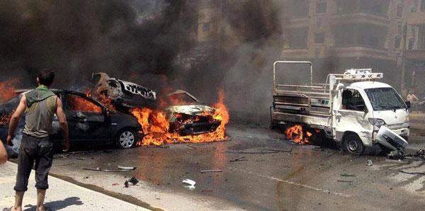تفجير-حمص