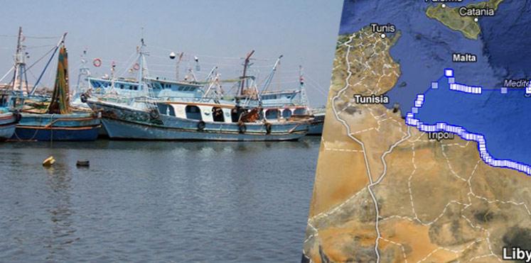 البحارة التونسيين المحتجزين في ليبيا