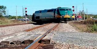 خروج قطار عن مساره