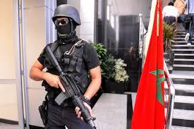 قوات الامن المغربي