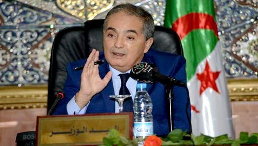وزير التجارة الجزائرى