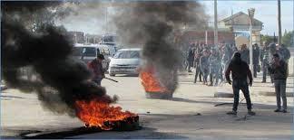 احتجاجات في القصرين